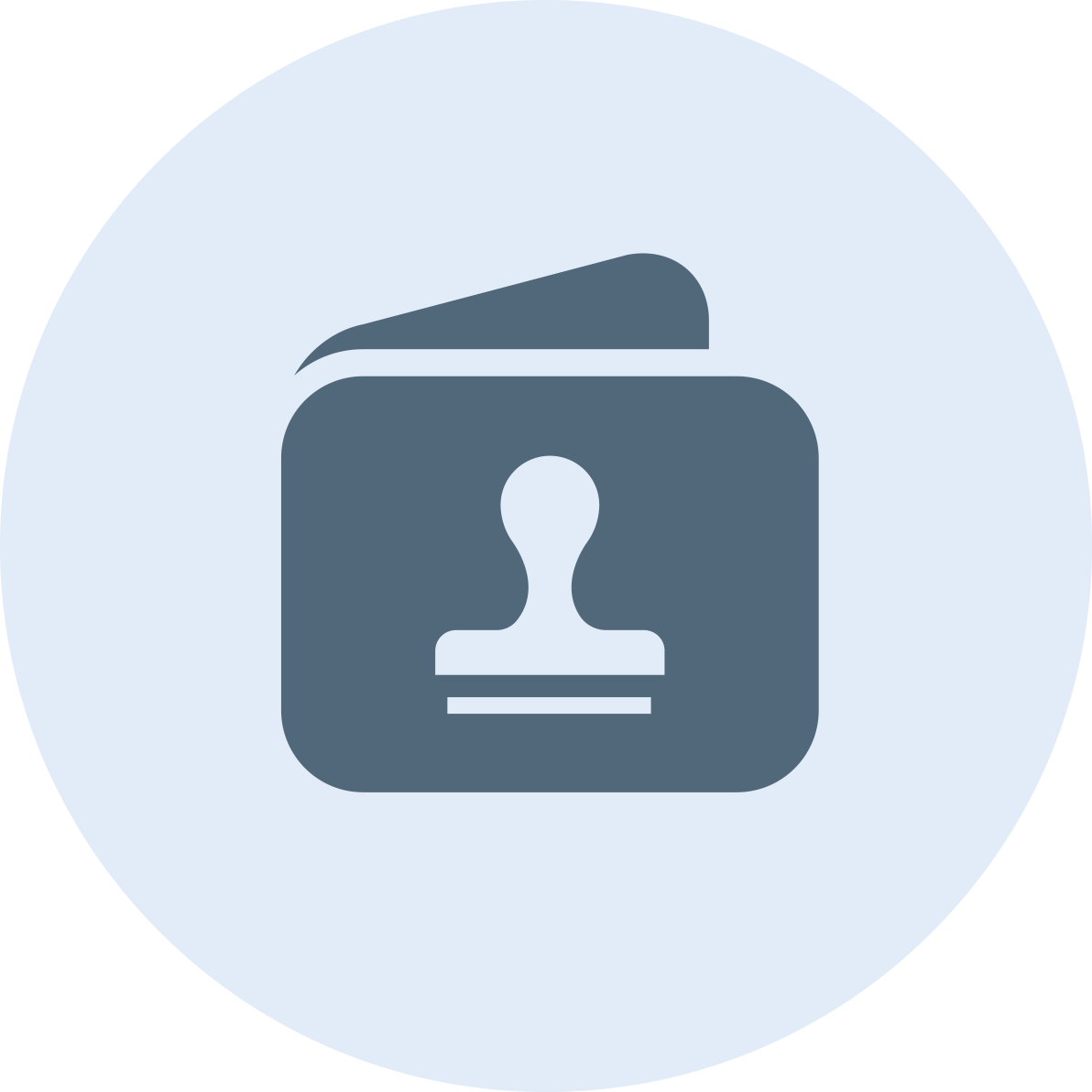 Customer loyalty app - stampwallet - logo